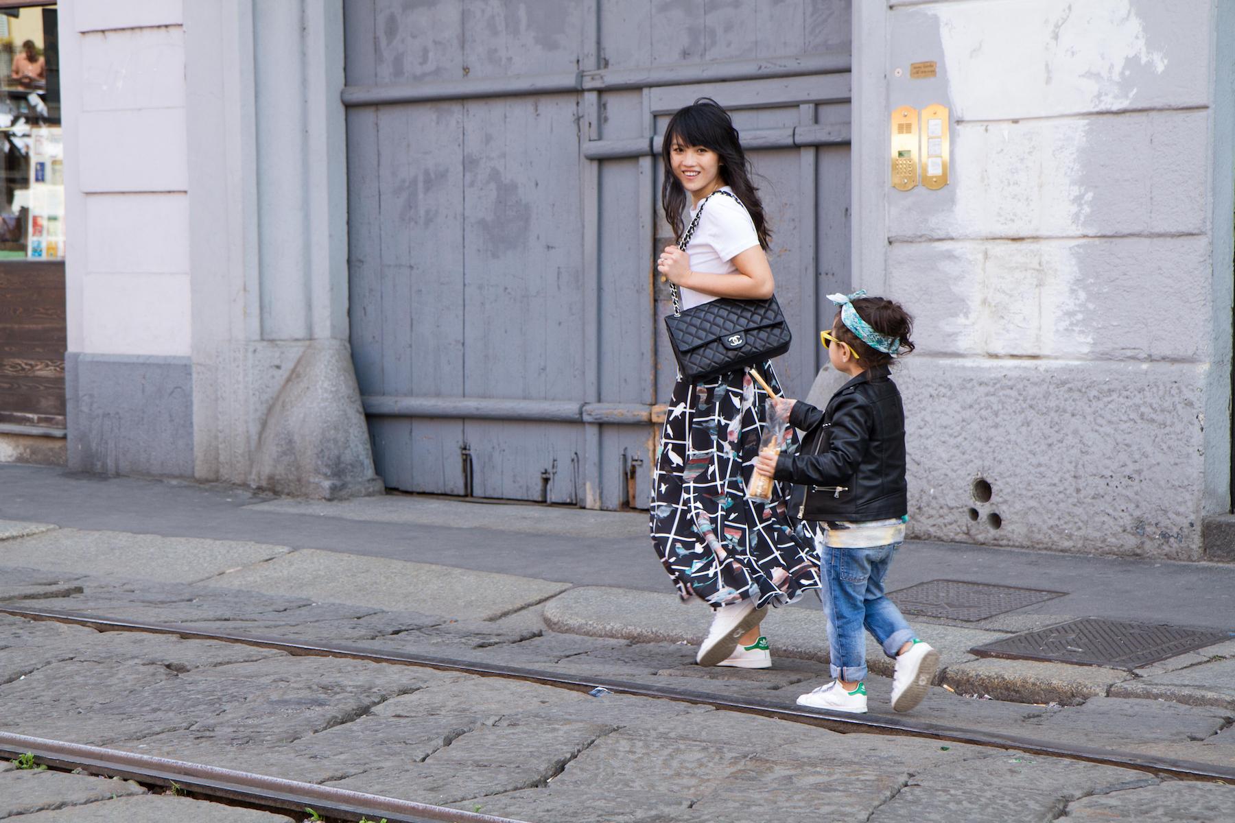 Digital Modern Family, Haiyan Fu