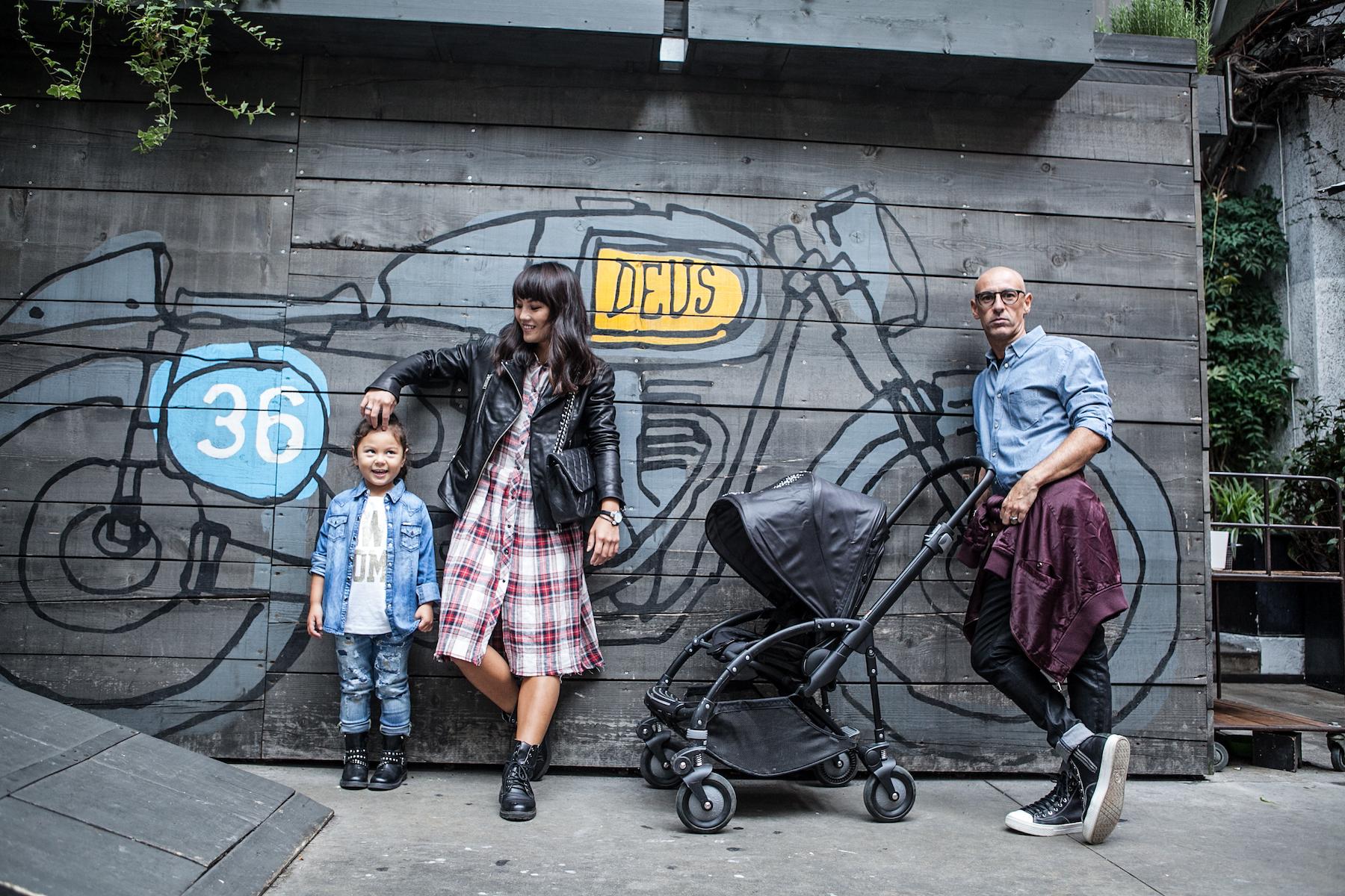 digital modern family, bugaboo, diesel