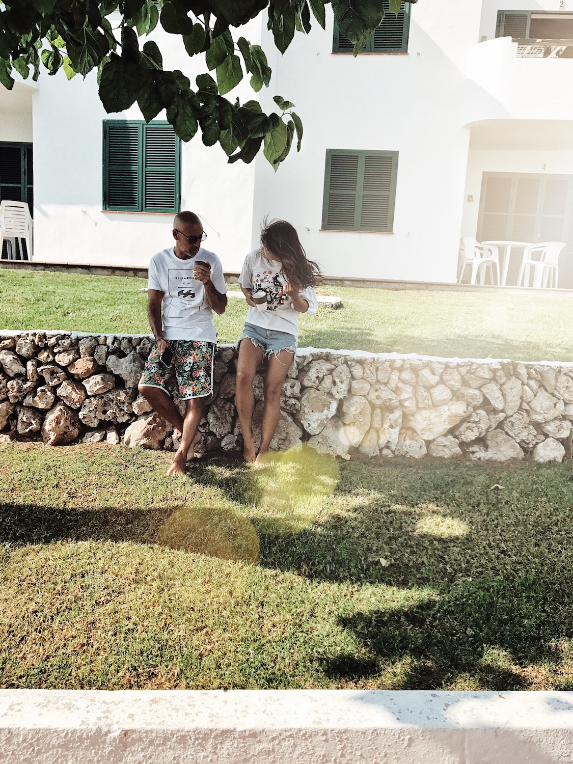 Digital Modern Family, Minorca, homeaway