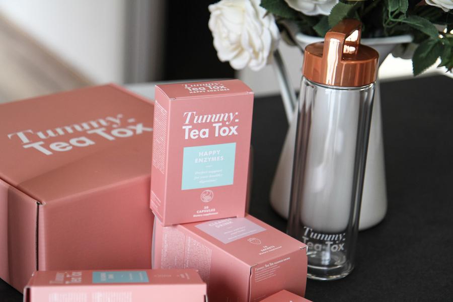 tummy tea tox, haiyan fu, digital modern family