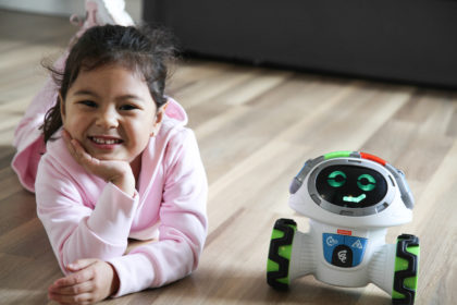 Chloe Parodi, digital modern family, fisher price, roby robot