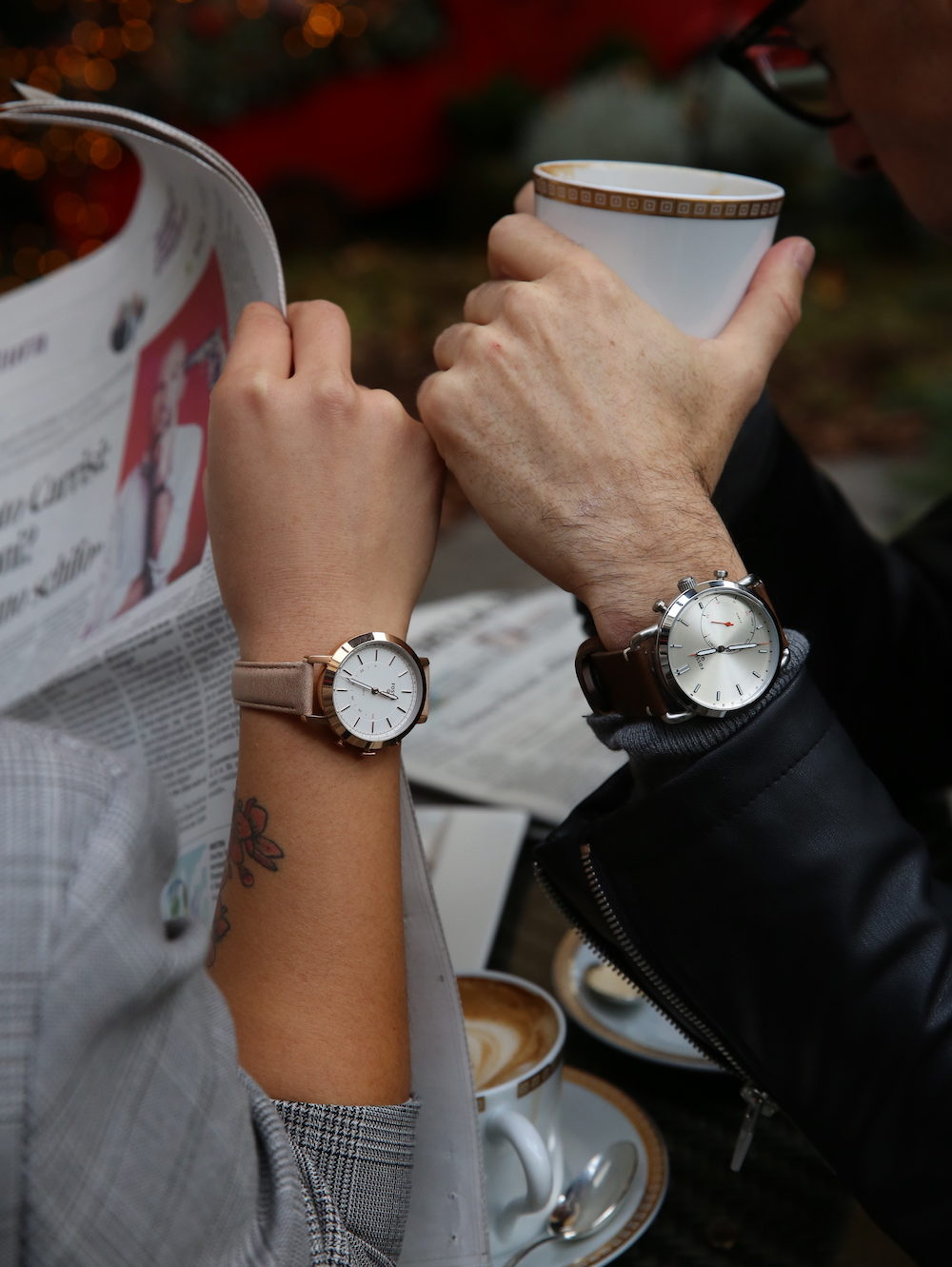 digital modern family, fossil, luciano parodi, haiyan fu, smartwatch