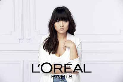 SPOKESPERSON  FOR L'Oréal